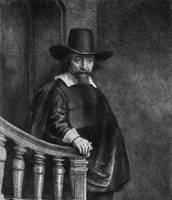 REMBRANDT VAN RIJN - EPHRAIM BONUS, KNOWN AS 'THE