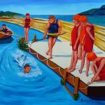 """""""Swimming Lessons"""" by anthonydunphy"""