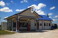 Route 66 - Odell Gas Station
