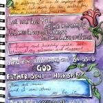 """Doodlio Divina Wesley Prayer"" by createdcreating"