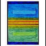 """BLUE OVER GREEN  EDIT F with LOGO"" by nawfalnur"