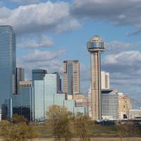 Dallas Skyline Art Prints & Posters by Glendine Prints