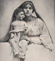 1895 LA VIERGE A L'ENFANT, (The Virgin and Child)