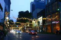 Christmas at Orchard Road , Street photography