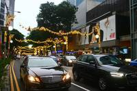 Busy Orchard Road , Street photography