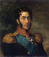 George Dawe - Russian Georgian general Pyotr Bagra