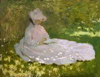 Springtime by Claude Monet in 1872