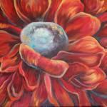 """""""Red Poppy Flower"""" by LizMoran"""