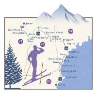 Northeast Winter Roadtrip by Nate Padavick Art Prints & Posters by They Draw & Cook & Travel