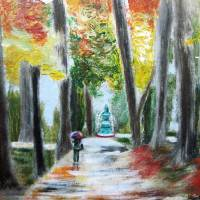 A Walk Through Woodford Square Art Prints & Posters by Waheeda Ramnath
