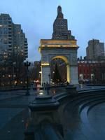 Washington Square at Dusk