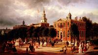 Independence Hall in Philadelphia by Ferdinand Ric