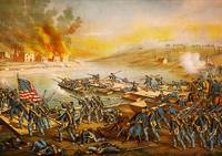 Battle of Fredericksburg Pontoon Bridges