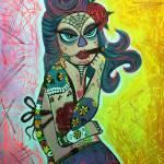 """""""Maria De Los Muertos 2"""" by ArtPrints"""