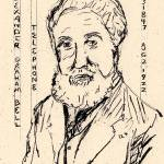 """Alexander Graham Bell"" by Dennis_Collins"