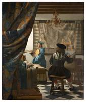Johannes Vermeer, also known as The Allegory of Pa