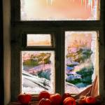 """Frosted Windowsill"" by zenin"