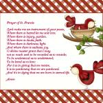 """PRAYER OF ST. FRANCIS"" by marymase"