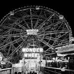 """WORLD FAMOUS CONEY ISLANDS WONDER WHEEL"" by KENDALLEUTEMEY"