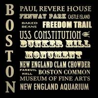 Boston Massachusetts Famous Landmarks