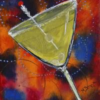 Dirty Martini Art Prints & Posters by Maggie Bernet