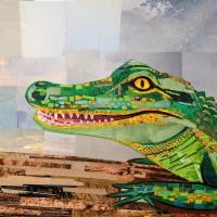 Alligator Art Prints & Posters by Megan Coyle