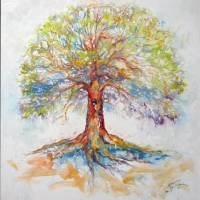 TREE of LIFE ~ HOPE  by Marcia Baldwin