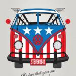 """MY SUPERHERO-VW-T1-CAP AMERICA"" by Chungkong"