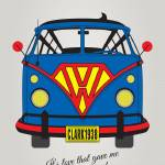 """MY SUPERHERO-VW-T1-superman"" by Chungkong"