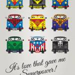 """MY SUPERHERO-VW-T1-universe"" by Chungkong"