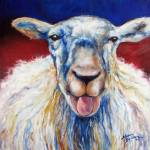 """OH BAA"" by MBaldwinFineArt2006"