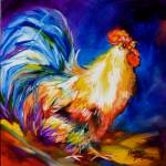 """THE MR ROOSTER"" by MBaldwinFineArt2006"