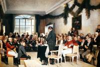 The 1814 Norway constitutional assembly, painted b