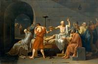 The Death of Socrates, by Jacques-Louis David (178