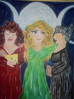 Balancing, Maiden, Mother and Crone