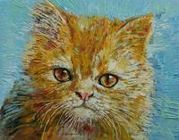 Van Gogh the Kitten