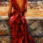 Lady in Red 34 - I love Budapest