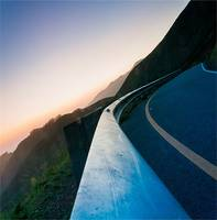 Winding Curvy Road