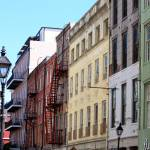 """Iberville Street in New Orleans"" by Groecar"