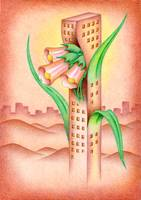 Tower of lily of the valley