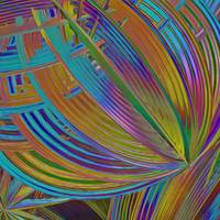 Rainbow Hues Abstract