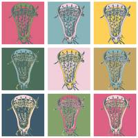 Lacrosse Marylin Blue