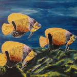 """Majestic Angelfish"" by waynecantrell"