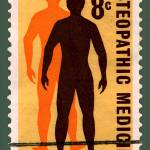 """Osteopathic Medicine Stamp"" by WilshireImages"