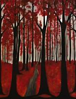 Red Forest Palette
