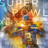 Seahawks Superbowl 2015 Art Prints & Posters by Greg Simanson