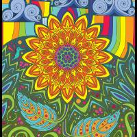 Ray Of Sunflower Art Prints & Posters by Sam Guertin