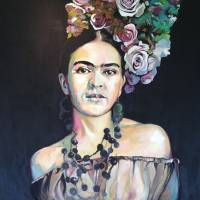Frida Art Prints & Posters by Karen Jones