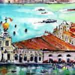"""""""Punta Della Dogana VENICE Italy"""" by GinetteCallaway"""