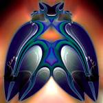 """Bird God"" by DolphinArts"